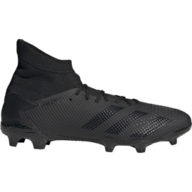 Buty piłkarskie adidas Predator 20.3 Fg EF1634 czarne czarne