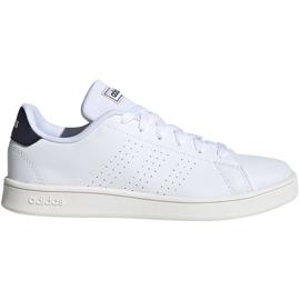 Buty dla dzieci adidas Advantage K białe FW2588