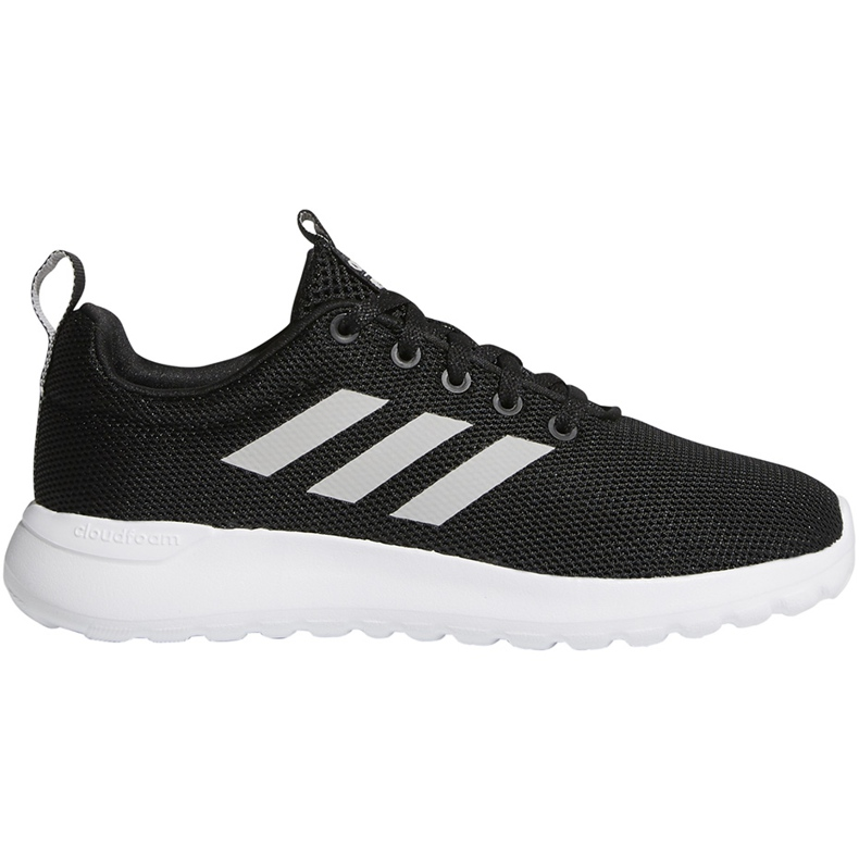 Buty dla dzieci adidas Lite Racer Cln K czarno-białe BB7051 czarne