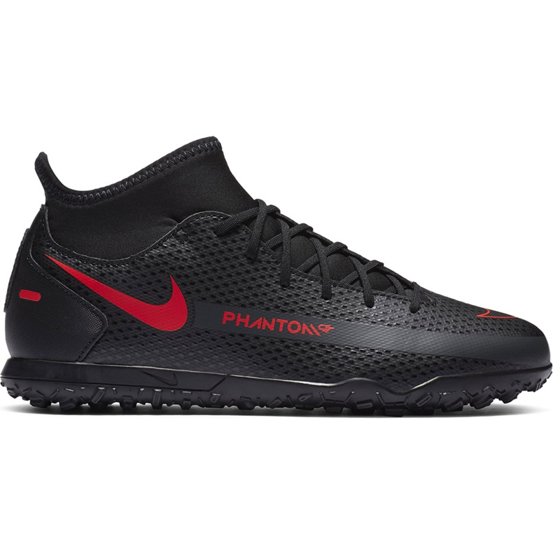 Buty piłkarskie Nike Jr Phantom Gt Club Df Tf CW6729 060 czarne czarne