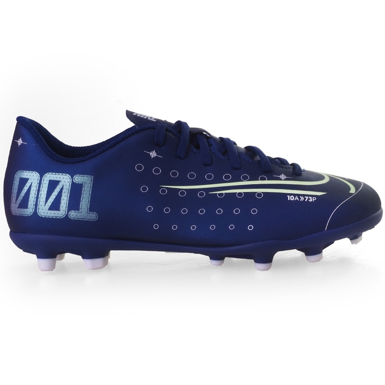Buty piłkarskie Nike Mercurial Vapor 13 Club Mds FG/MG Junior CJ1148 401 granatowe granatowe
