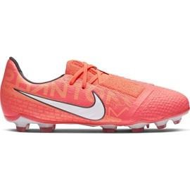 Buty piłkarskie Nike Phantom Venom Elite Fg Junior AO0401 810 pomarańczowe wielokolorowe