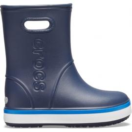 Crocs kalosze dla dzieci Crocband Rain Boot Kids granatowe 205827 4KB