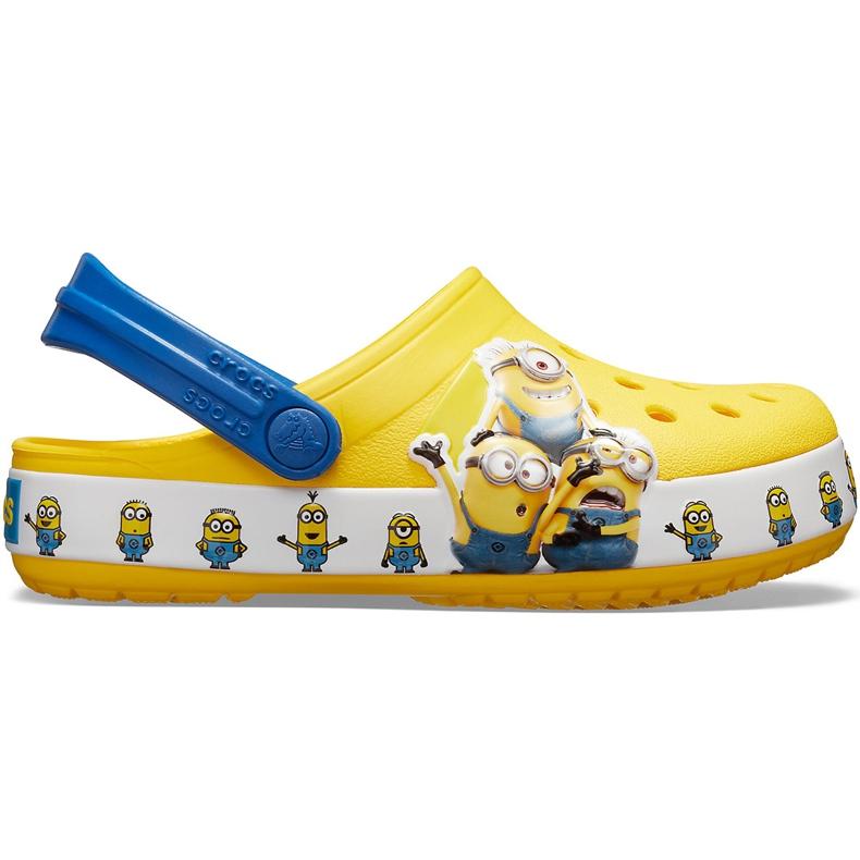 Crocs dla dzieci Fl Minions Multi Clg Kids żółte 205512 730