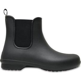 Crocs kalosze damskie Freesail Chelsea Boot W czarne 204630 060