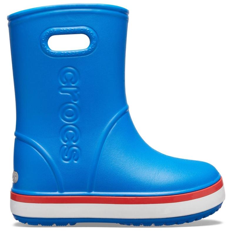 Crocs kalosze dla dzieci Crocband Rain Boot Kids niebieskie 205827 4KD