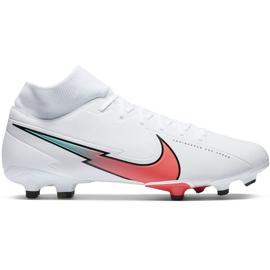 Buty piłkarskie Nike Mercurial Superfly 7 Academy FG/MG M AT7946 163 białe