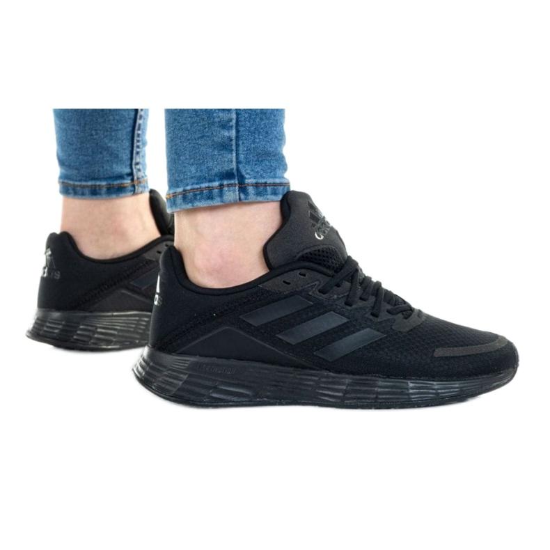 Buty adidas Duramo Sl K FX7306 czarne czerwone