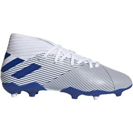 Buty piłkarskie adidas Nemeziz 19.3 Fg Jr EG7245 szare srebrny