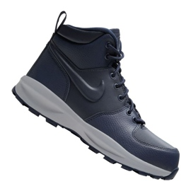 Buty Nike Manoa Ltr Jr BQ5372-400 czarne granatowe