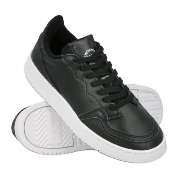 Buty adidas Supercourt J EE7727 czarne