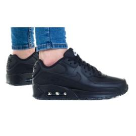 Buty Nike Air Max 90 Ltr (GS) Jr CD6864-001 białe czarne