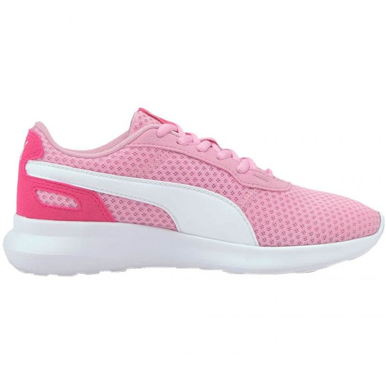 Buty Puma St Active Jr 369069 14 niebieskie różowe