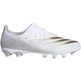 Buty piłkarskie adidas X GHOSTED.3 Mg FW3543 białe białe