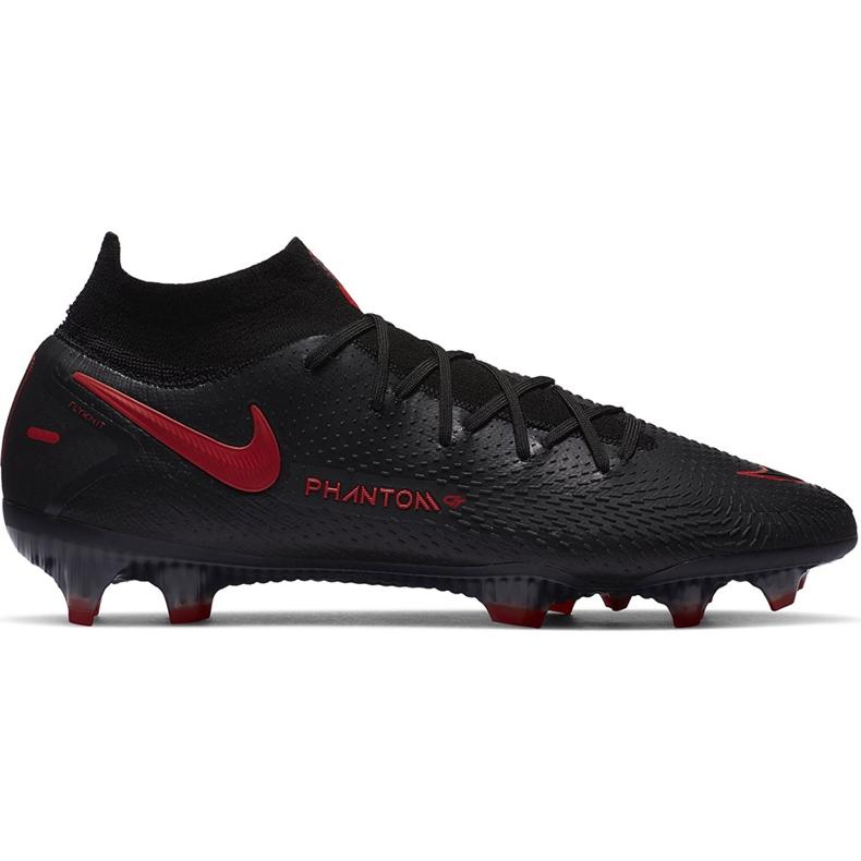 Buty piłkarskie Nike Phantom Gt Elite Df Fg CW6589 060 czarne czarne