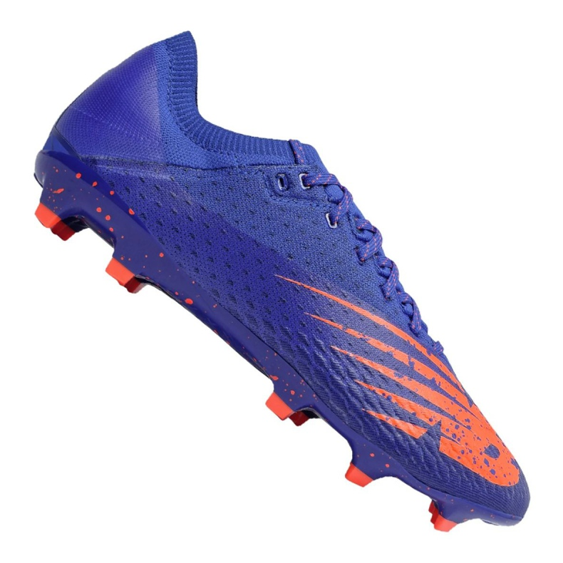 Buty piłkarskie New Balance Furon v6 Pro Fg CO6 814070-60 wielokolorowe fioletowe