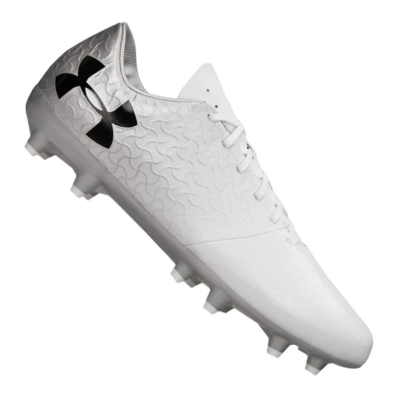 Buty Under Armour Magnetico Select Fg M 3000115-100 białe