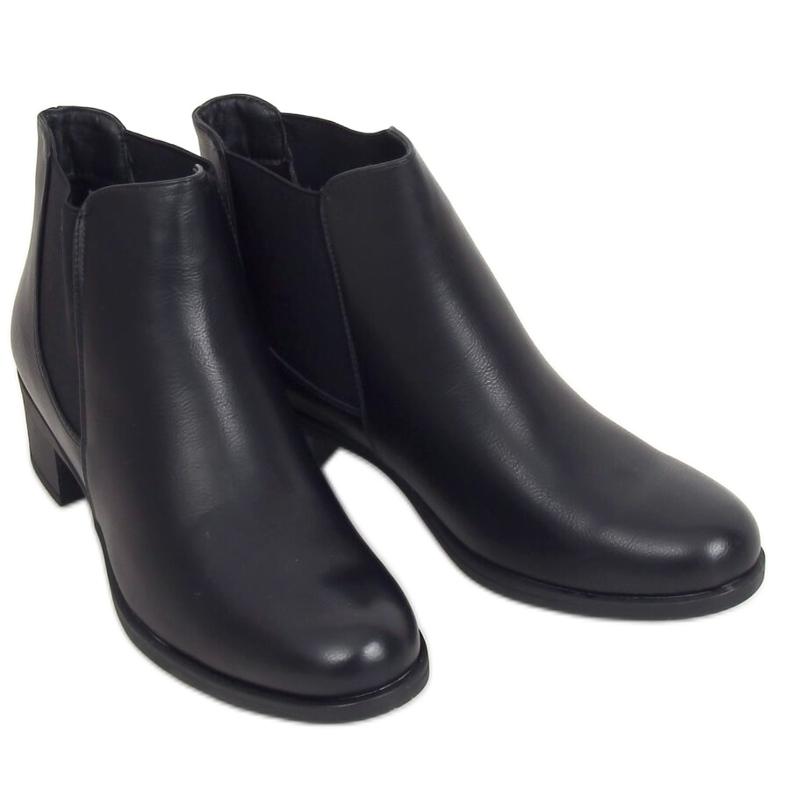 Sztyblety damskie czarne 8B875 Black