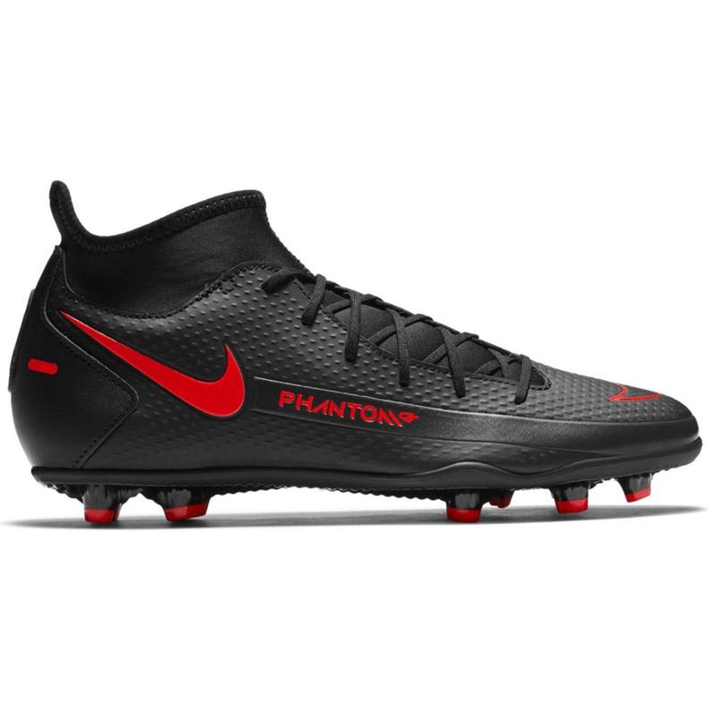 Buty piłkarskie Nike Phantom Gt Club Df FG/MG CW6672 060 czarne czarne