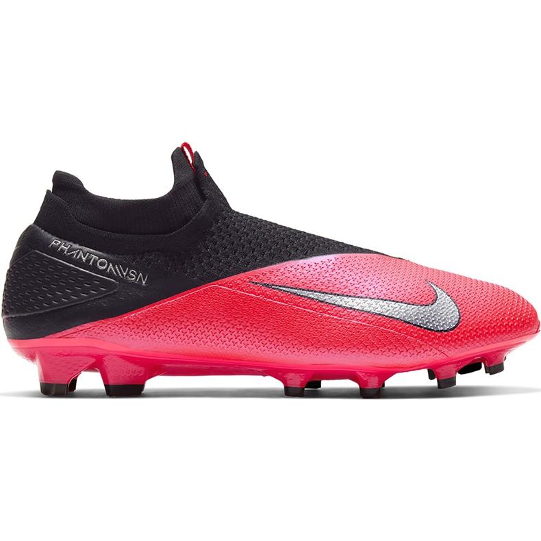 Buty piłkarskie Nike Phantom Vsn 2 Elite Df Fg CD4161 606 czerwone wielokolorowe