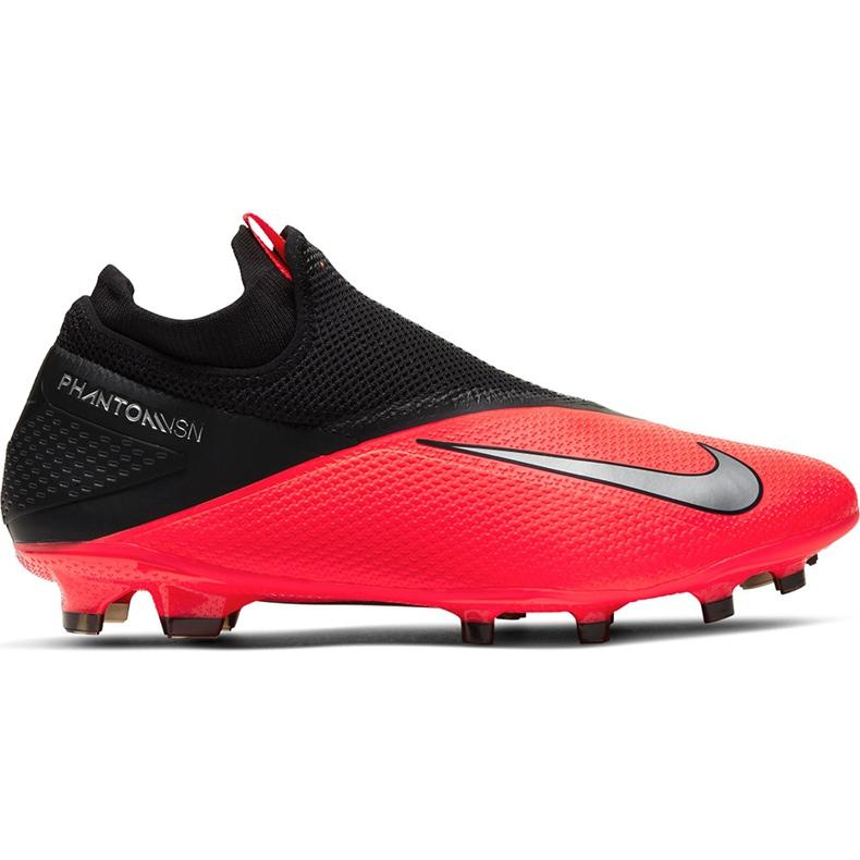 Buty piłkarskie Nike Phantom Vsn 2 Pro Df Fg CD4162 606 czerwone czerwony,czarny