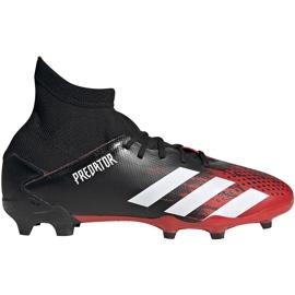 Buty piłkarskie adidas Predator 20.3 Fg Jr EF1930 czerwone