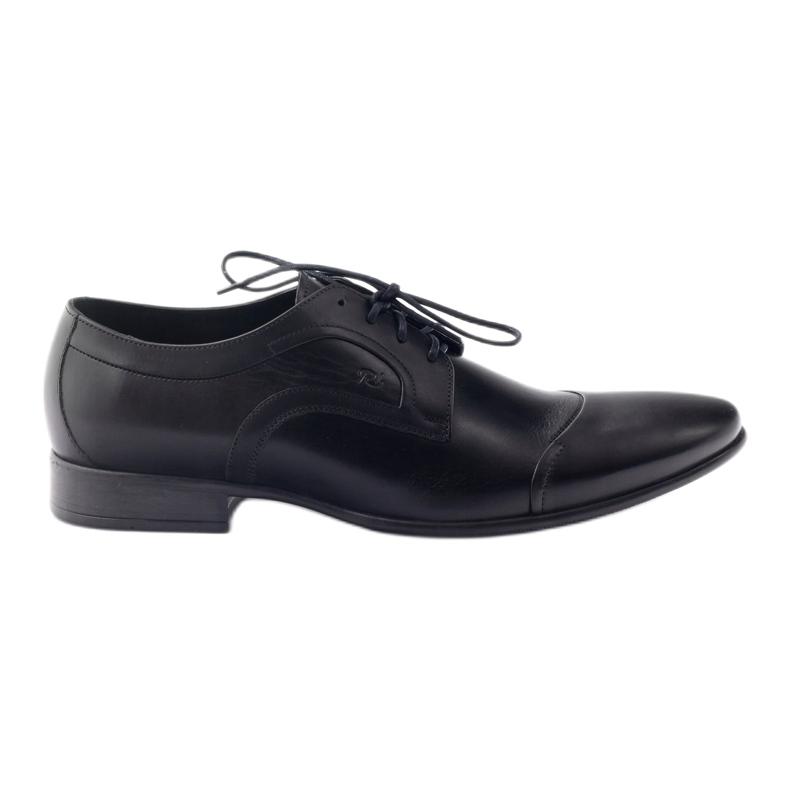 Półbuty skórzane buty męskie Pilpol 1262 czarne