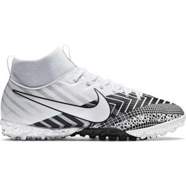 Buty piłkarskie Nike Mercurial Superfly 7 Academy Mds Tf Junior BQ5407 110 białe