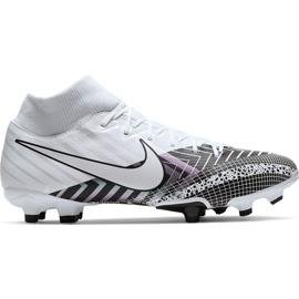 Buty piłkarskie Nike Mercurial Superfly 7 Academy Mds FG/MG BQ5427 110 białe białe