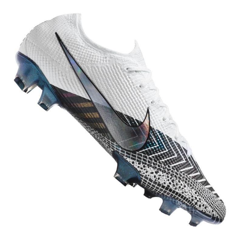 Buty piłkarskie Nike Vapor 13 Elite Mds Fg M CJ1295-110 granatowy, biały, szary/srebrny białe