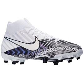 Buty piłkarskie Nike Mercurial Superfly 7 Academy Mds FG/MG Jr BQ5409-110 wielokolorowe białe