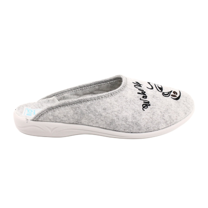 Kapcie Filcowe Wake Up Adanex 25642 Grey