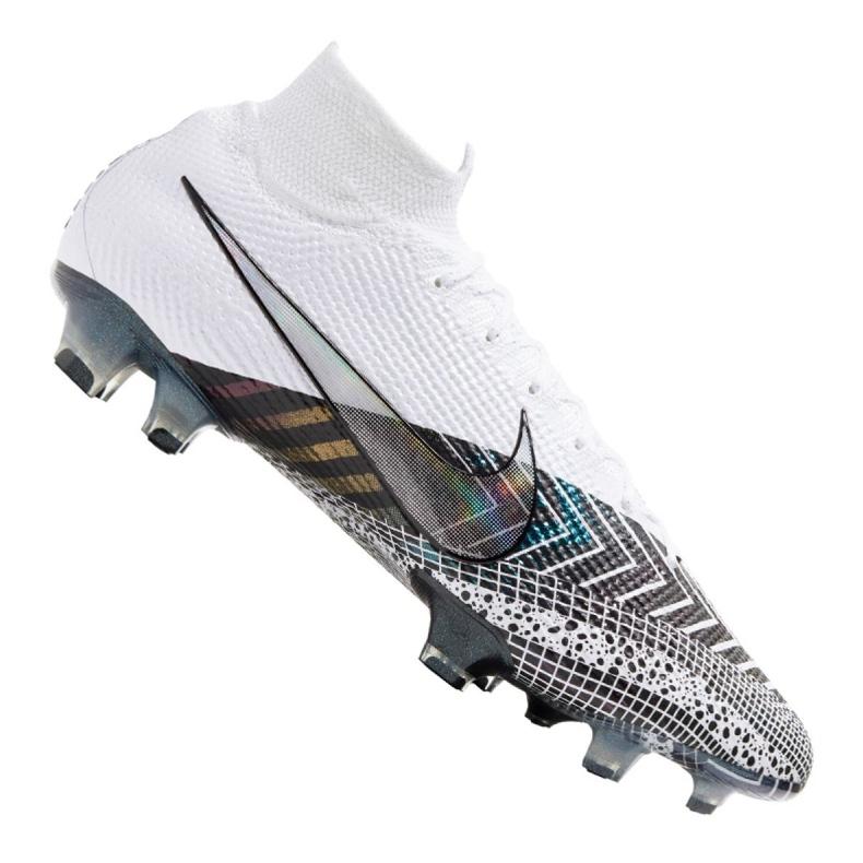 Buty piłkarskie Nike Superfly 7 Elite Mds Fg M BQ5469-110 granatowy, biały, szary/srebrny białe