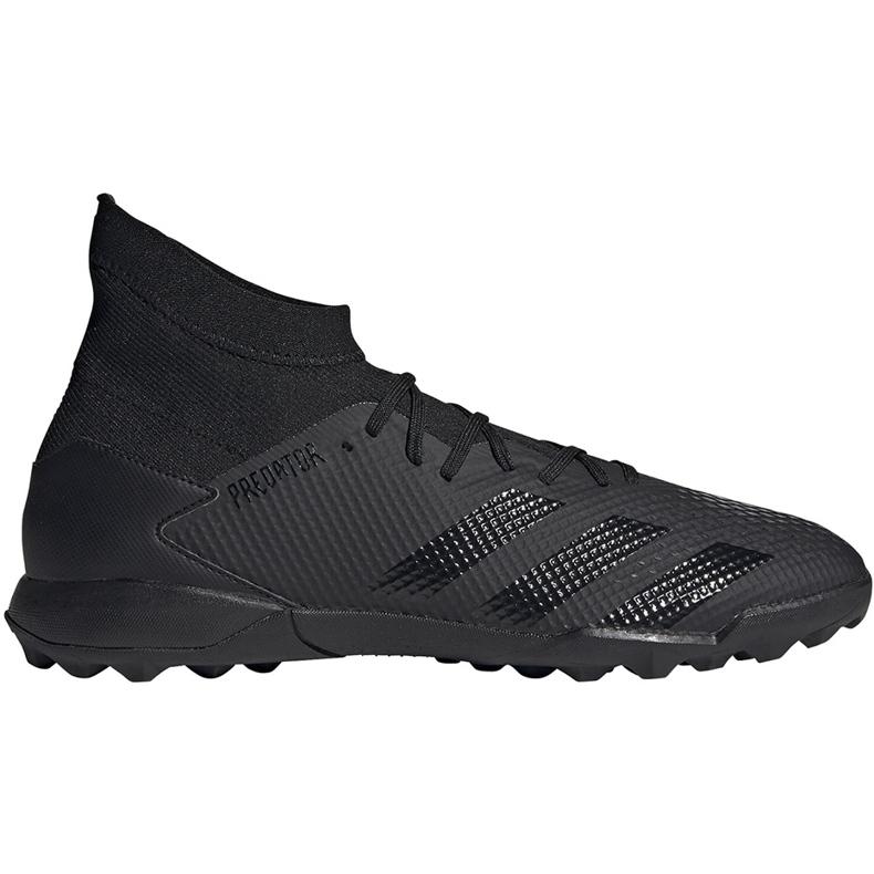 Buty piłkarskie adidas Predator 20.3 Tf czarne EE9577
