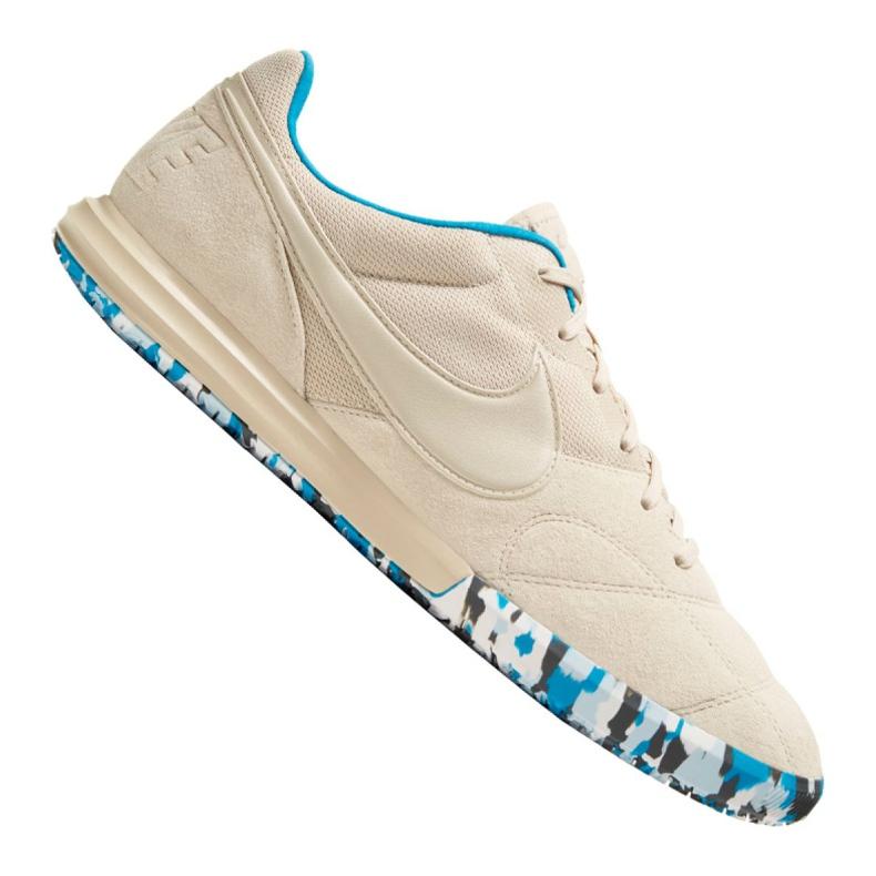 Buty halowe Nike The Premier Ii Sala M AV3153-114 beżowy beżowy