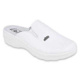 Befado obuwie damskie 157D005 białe