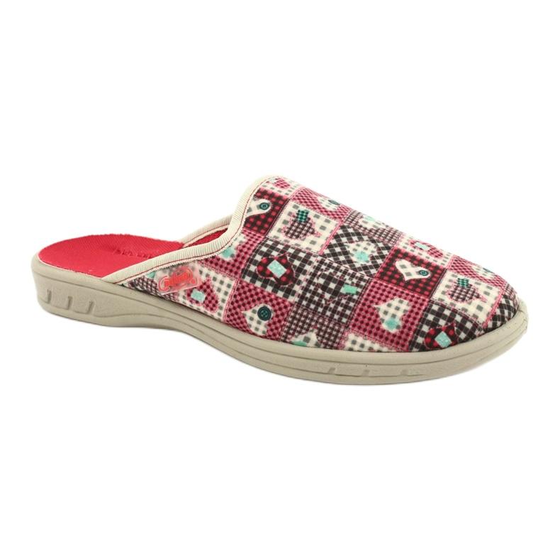 Befado kolorowe obuwie dziecięce     707Y413 wielokolorowe