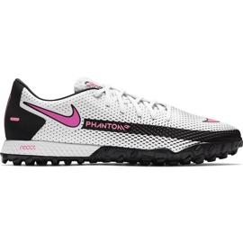 Buty piłkarskie Nike React Phantom Gt Pro Tf CK8468 160 białe białe