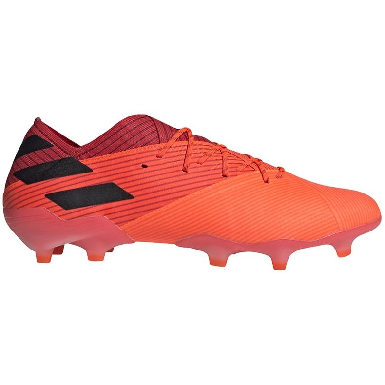 Buty piłkarskie adidas Nemeziz 19.1 Fg pomarańczowe EH0770