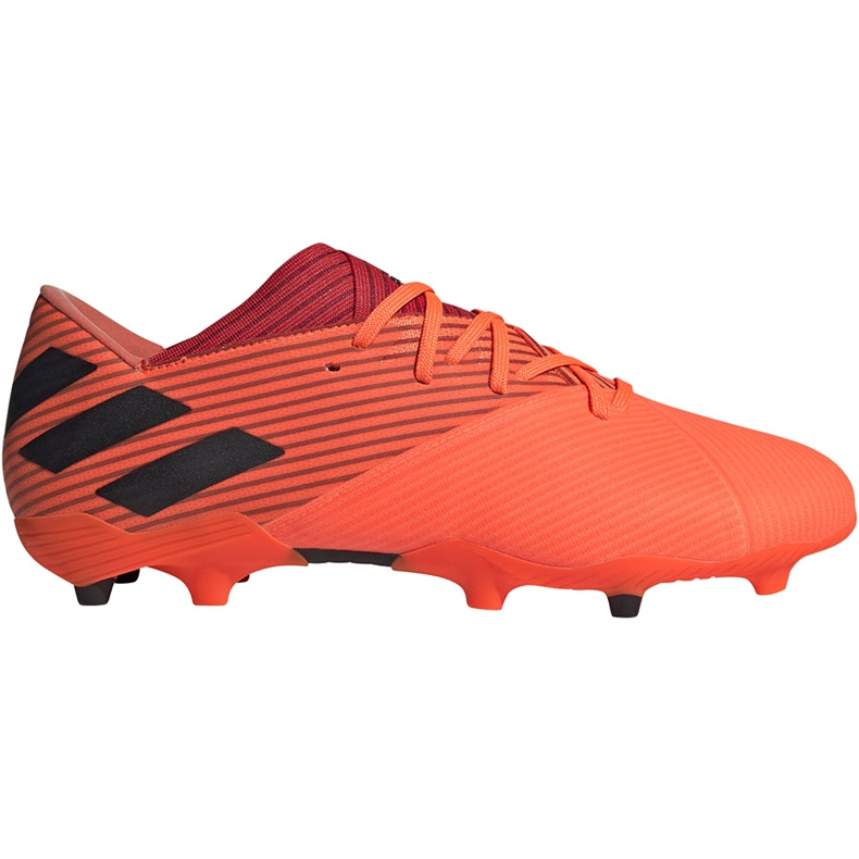 Buty piłkarskie adidas Nemeziz 19.2 Fg pomarańczowe EH0293