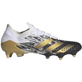 Buty piłkarskie adidas Preadator Mutator 20.1 L Sg FW9181 złoty