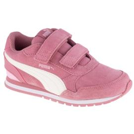 Buty Puma St Runner V2 Sd V Ps Jr 366001-09 pomarańczowe różowe