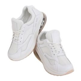 Buty sportowe damskie białe 8271-SP White
