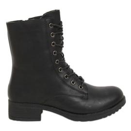 Workery damskie czarne 1219B-PA Black