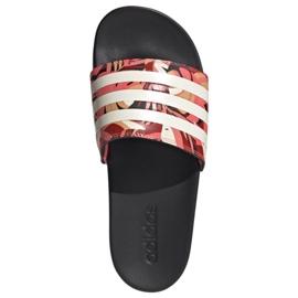 Klapki adidas Adilette Comfort W FW7256 różowe wielokolorowe