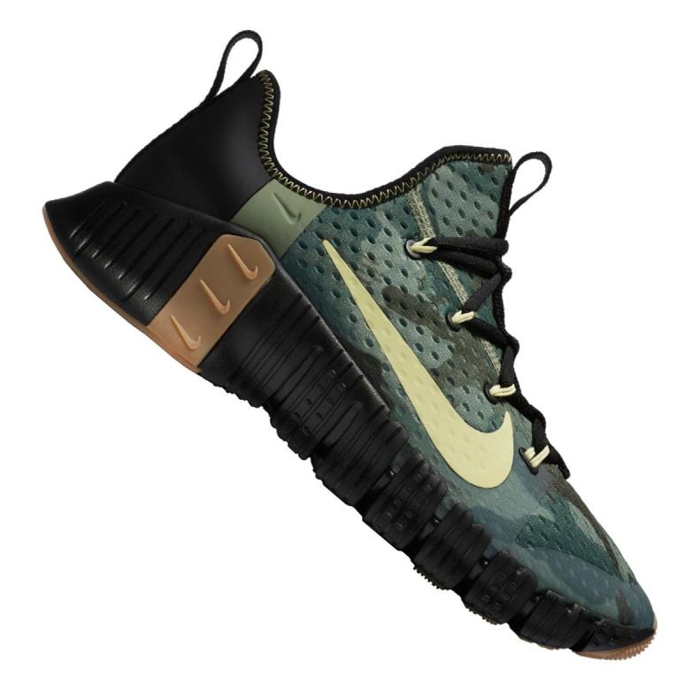 Buty treningowe Nike Free Metcon 3 M CJ0861-032 wielokolorowe zielone