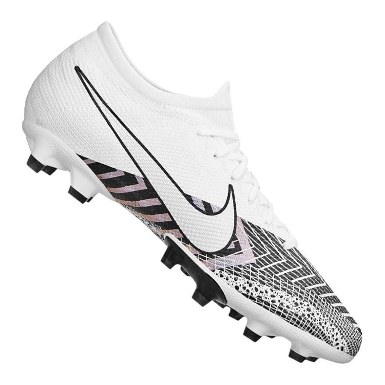Buty piłkarskie Nike Vapor 13 Pro Mds Ag M CJ9981-110 białe czarny, biały, szary/srebrny