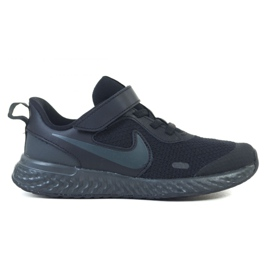 Buty Nike Rebolution 5 (PSV) Jr BQ5672-001 czarne