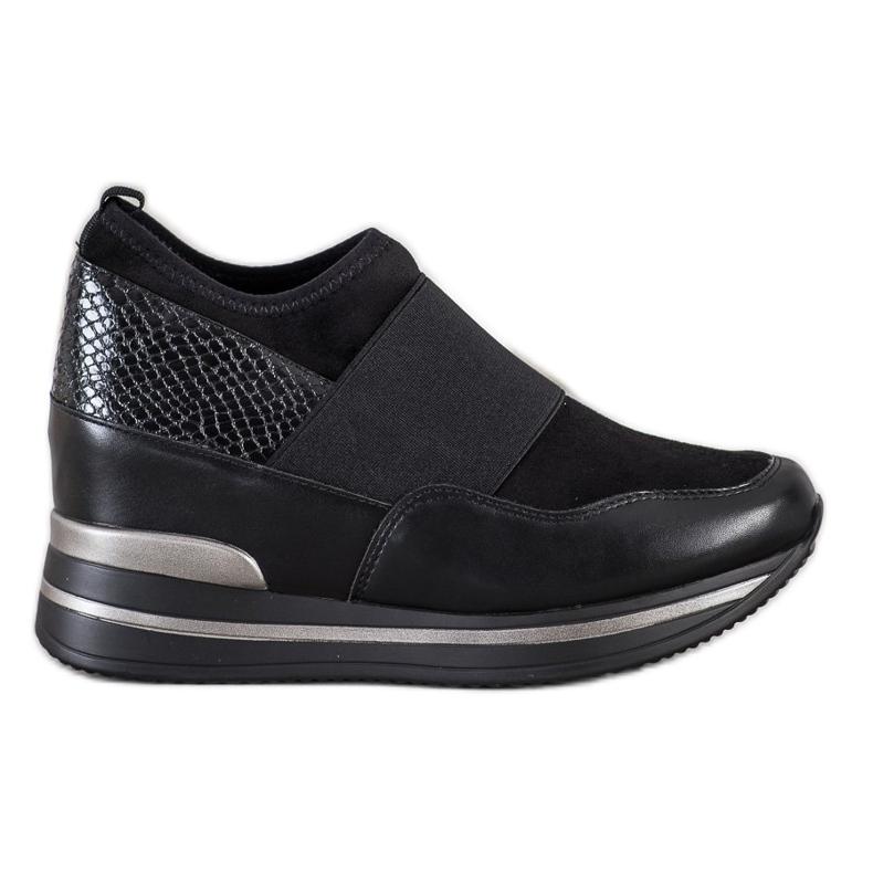 Gogo Wsuwane Sneakersy czarne