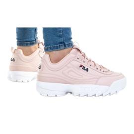 Buty Fila Disruptor Kids 1010567-72W niebieskie różowe